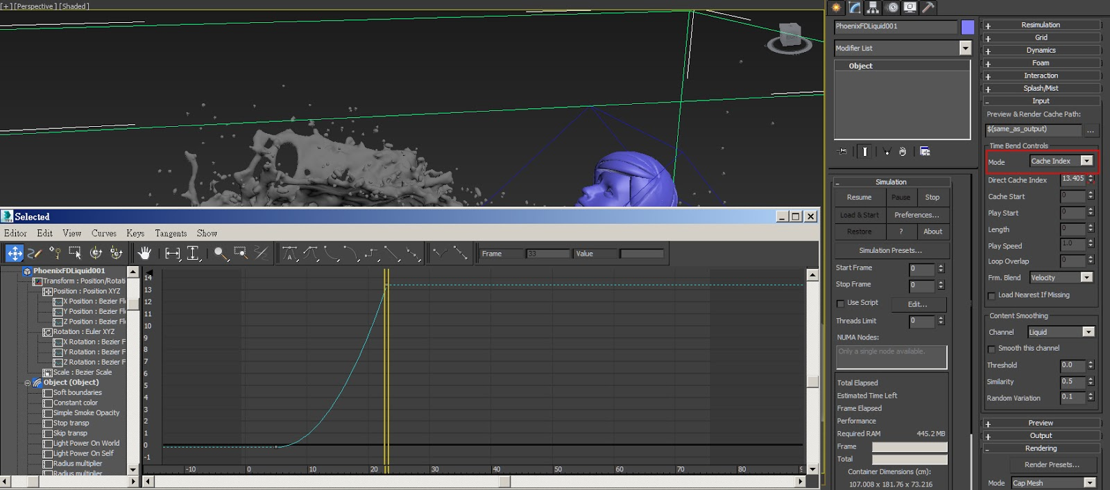 PhoenixFD 3 0 for 3dsMax Review | Computer Graphics Daily News