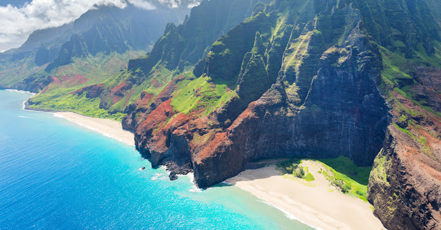 Movies filmed on Kauai take advantage of beautiful scenery like this