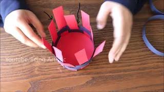 tutorial tempat telur dari kertas