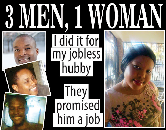 Zimbabwe woman slept with 2 of her husbands friends to get him a job