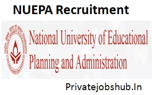 NUEPA Recruitment