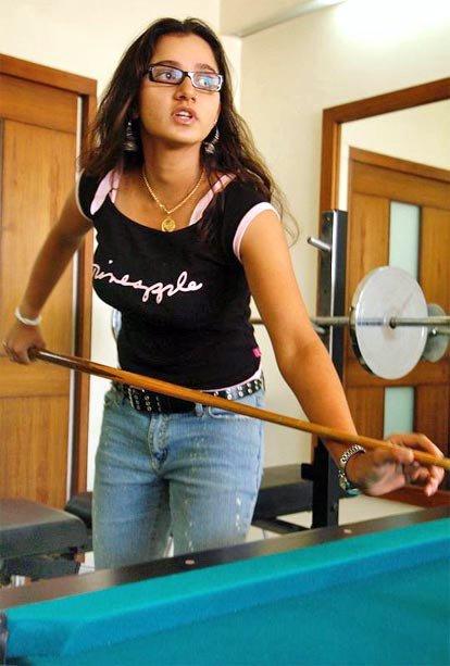 Hot Tennis Player Sania Mirza Hot Photo Gallery -7522
