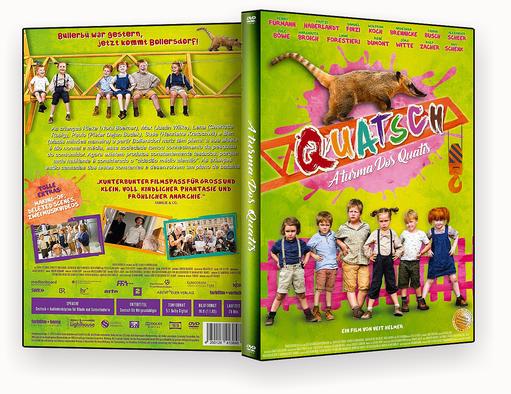 A Turma Dos Quatis – ISO – CAPA DVD