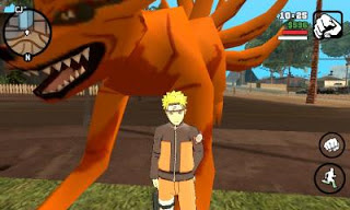 Game GTA San Andreas Mod Pack Naruto By Lutfi (Final V) Terbaru