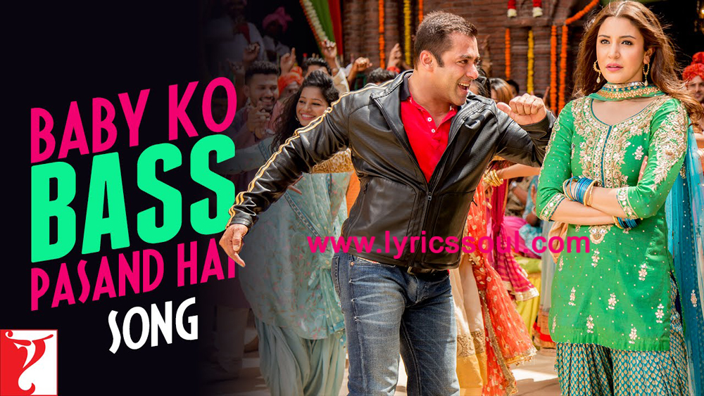 The Baby Ko Bass Pasand Hai lyrics from 'Sultan', The song has been sung by Vishal Dadlani, Shalmali Kholgade, Ishita. featuring Salman Khan, Anushka Sharma, Randeep Hooda, Amit Sadh. The music has been composed by Vishal-Shekhar, , . The lyrics of Baby Ko Bass Pasand Hai has been penned by Irshad Kamil