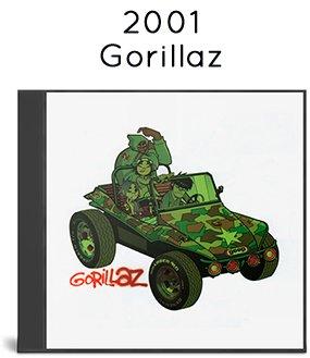 2001 - Gorillaz (7243 5 31138 0 3) + (7243 5 33748 0 8)