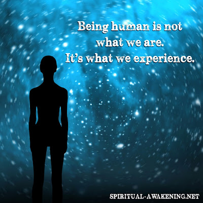 Spiritual quote about being human