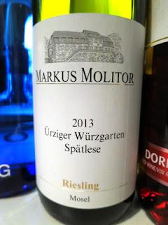 Markus Molitor Ürziger Würzgarten Riesling Spätlese 2013 (91 pts)