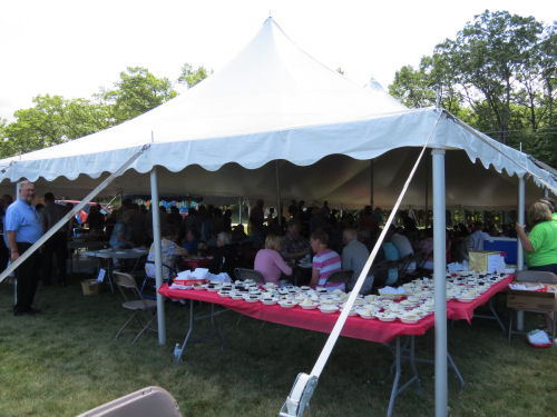 Ludington Michigan United Methodist Church sesquicentennial