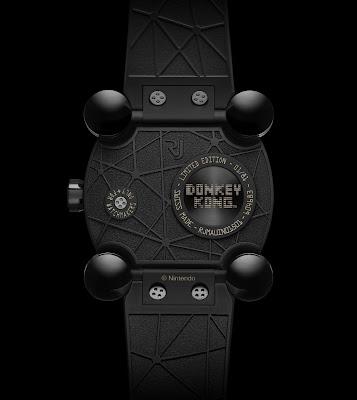 RJ-Romain Jerome Donkey Kong watch case back