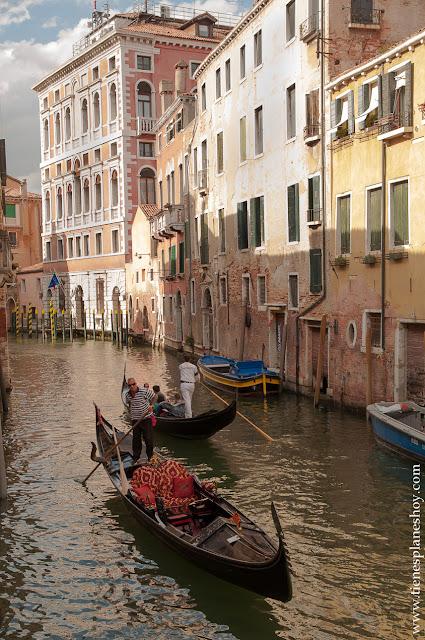 Venecia viaje canales Italia turismo