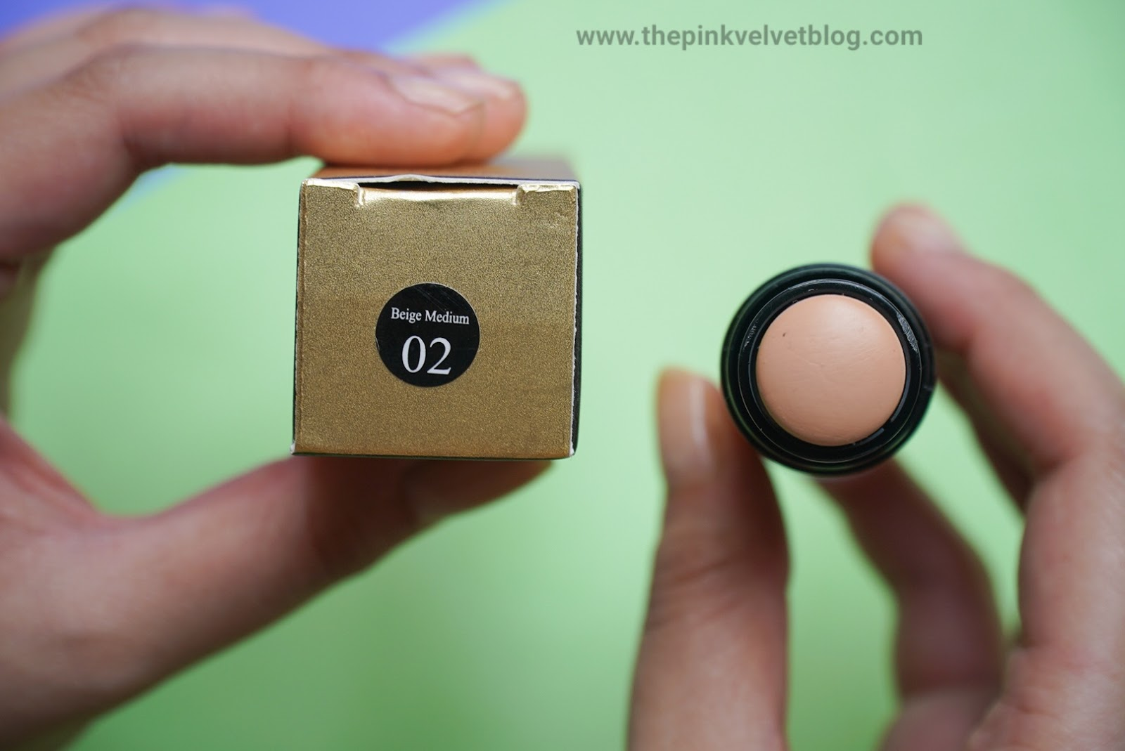 C.A.L Concealer Stick Review and Swatches - Shade Beige Medium 02