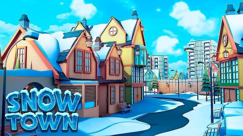 Snow Town – Ice Village World Winter Age – APK MOD HACK – Dinheiro Infinito
