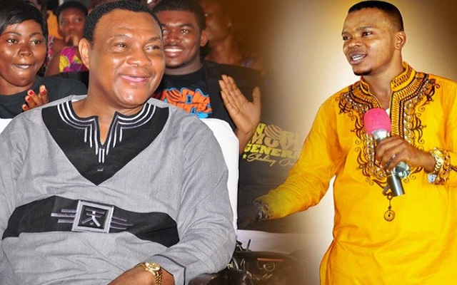 Watch Video: Bishop Obinim  insulted Rev. Sam Korankye Ankrah BUT refused to Reply The Fetish Priest Nana Yaw Appiah