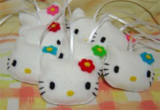 Free Pola Flanel - Hello Kitty