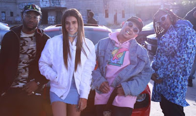 Anjali New Video Featuring Casey Veggies