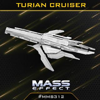 Innovatoys Metal Earth 3d Models Metal Earth Mass Effect Turian