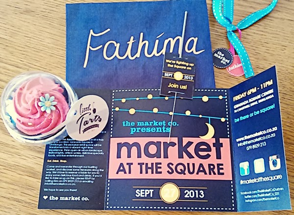 Personalised promo pack from Market at the Square - Granada Square, Umhlanga, Durban