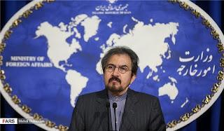 foreign ministry spokesman Bahram Ghassemi
