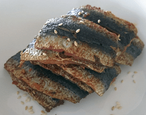 Fried Sardine Fillets
