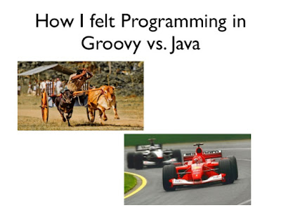 Difference between Groovy and Java