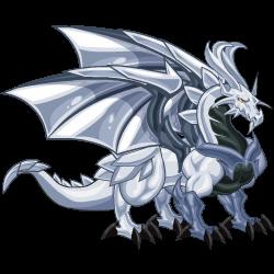 Dragón Platino (Adulto)
