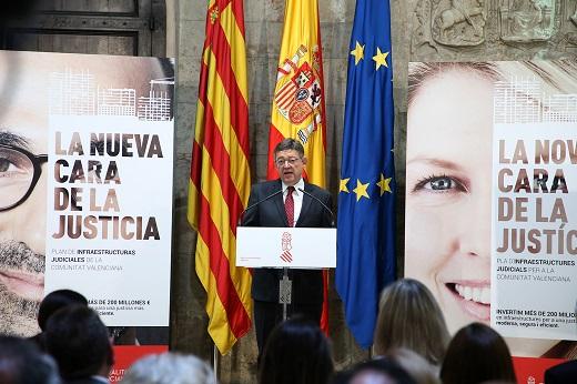 La Generalitat invertirá 200 millones de euros en la construcción y rehabilitación de sedes judiciales
