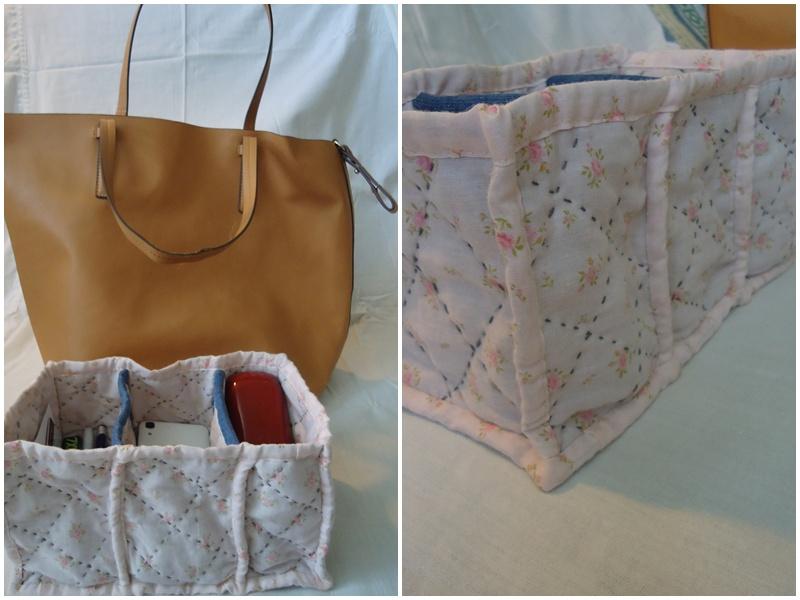 wkład do torby z przegródkami DIY