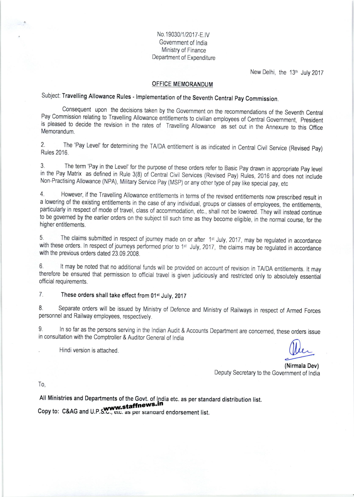7th cpc travelling allowance rules om ta on tourtrainingtransfer 7th cpc ta rules page1 altavistaventures Gallery