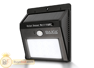 [EXCLUSIVE] Waterproof Wireless Solar Motion Sensor Night Lights by BAXIA TECHNOLOGY