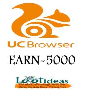 UC Browser Holi Offer loot tricks