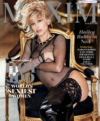 Hailey Baldwin - Maxim USA 2017 Junio Julio (50 Fotos HQ)