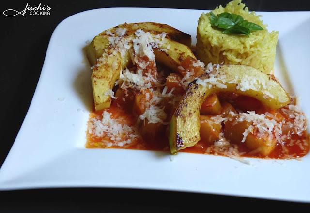 fischiscooking, zucchini gebraten, ragout