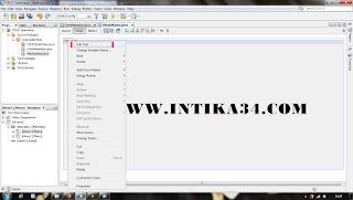 tutorial, java, netbeans, menu utama