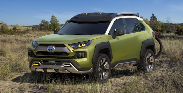 hybrid SUV Toyota FT-AC Concept