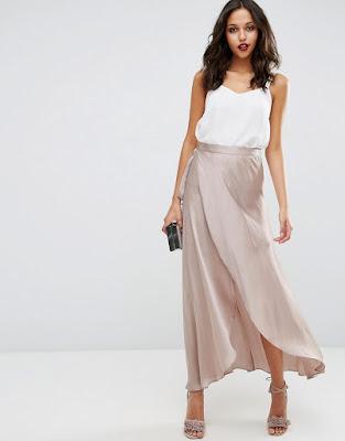faldas largas como se usan