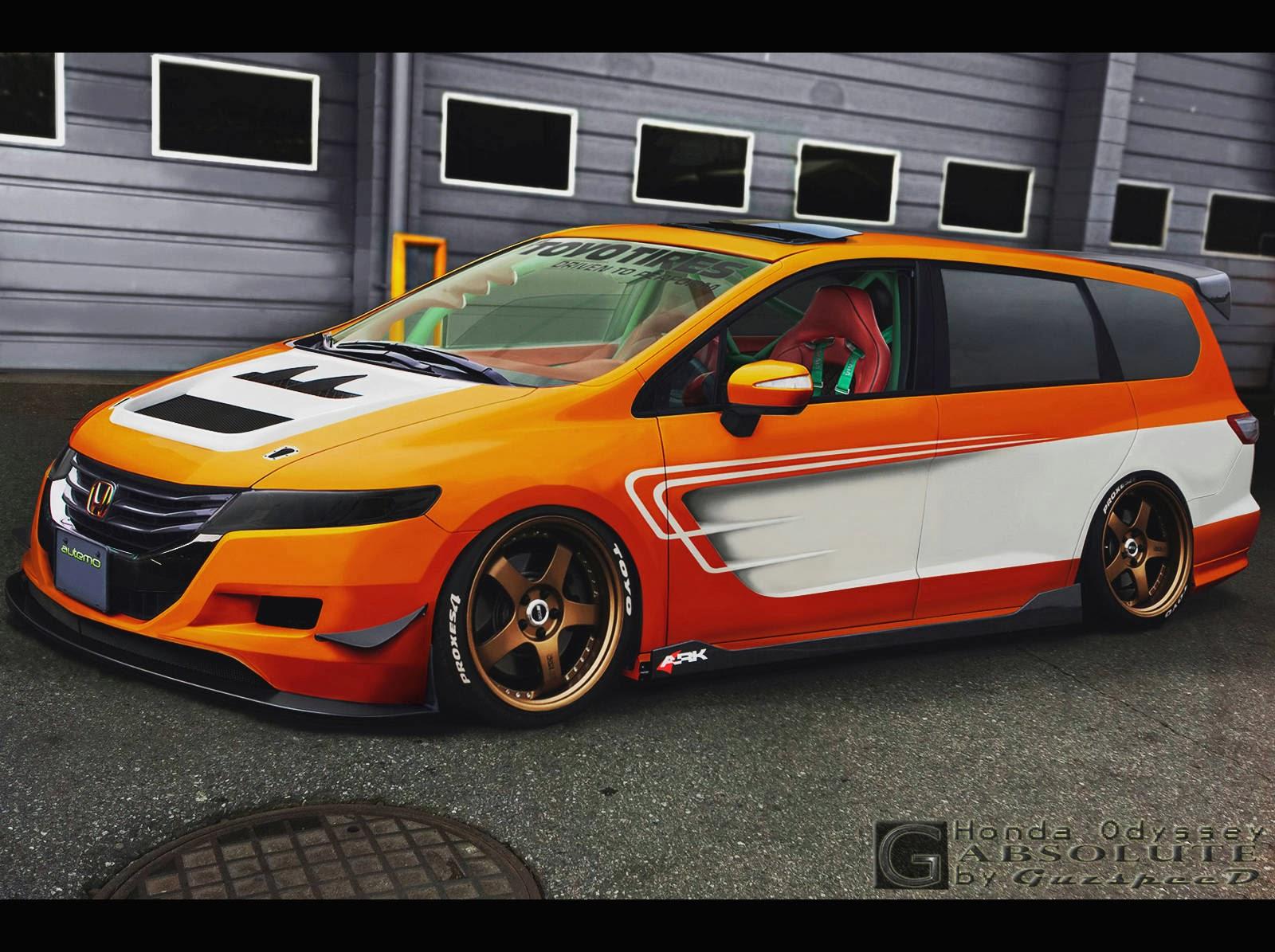 Modification Modifikasi Honda Odyssey Absolute Racing No