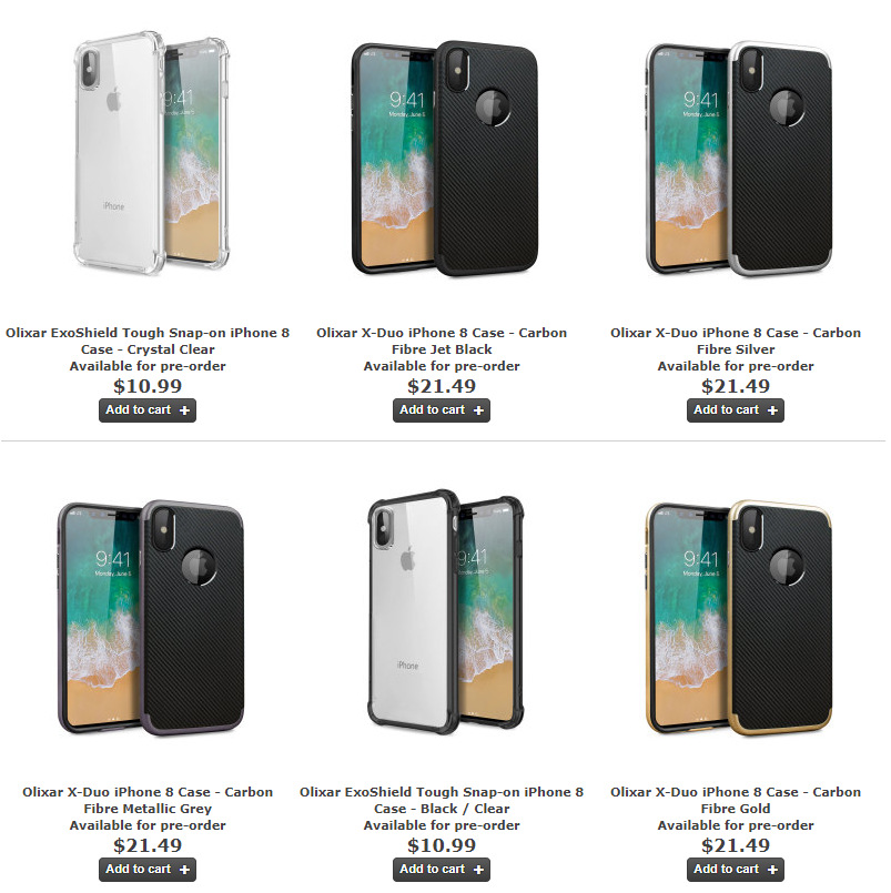 Olixar Has Started Manufacturing IPhone 8 Cases And Made Available For Pre Order Months Via