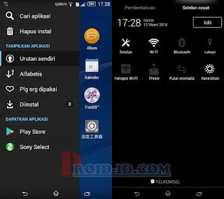 APP List Xperia E4 Dual Huawei Honor 3C H30-U10