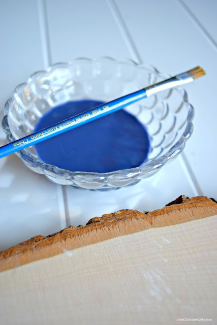 How to make your own colorful wood stain for small home decor projects