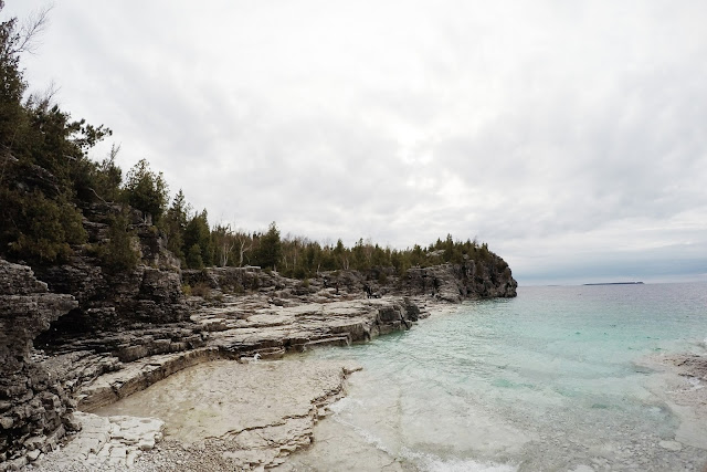 Indian Head Cove, Bruce Peninsula National Park, Ontario, Canada