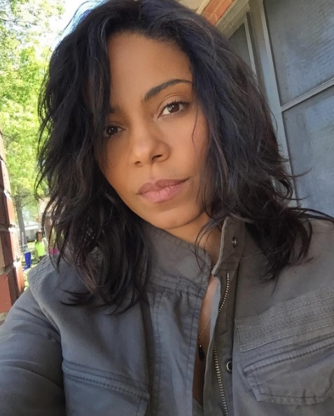 Sanaa Lathan Going Bare Faced & Weave-free This Summer