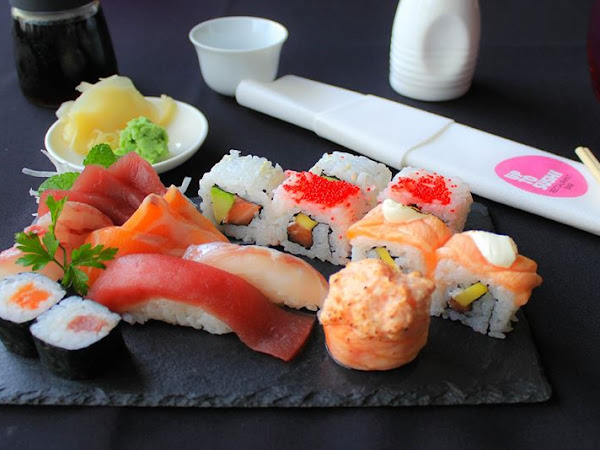 Up to sushi | upa upa