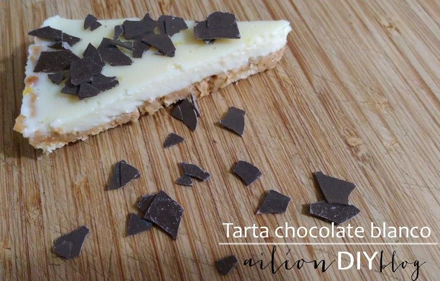 tarta chocolate blanco facil