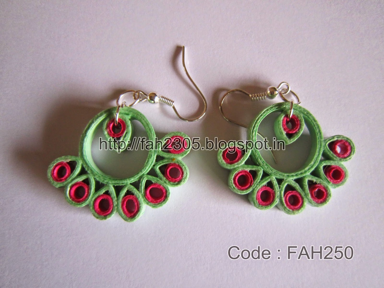Paper Quilling Earrings New Designs
