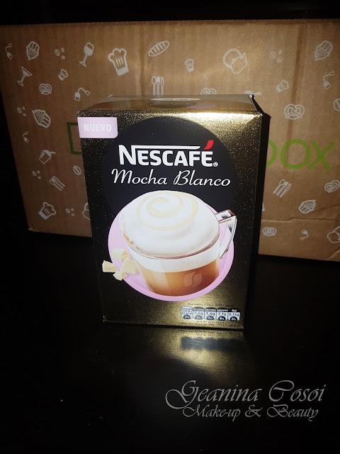 Nescafé Mocha Blanco Caja Degustabox - Abril ´17