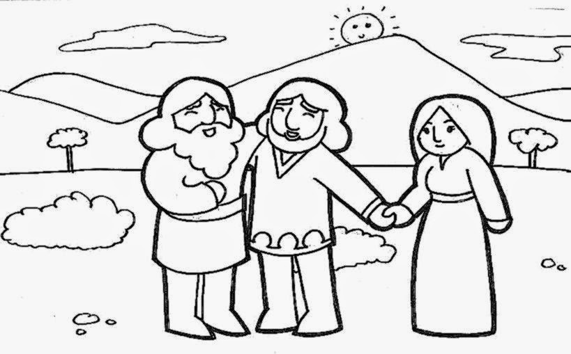 Family Sunday School Coloring Pages To Print Coloring Pages