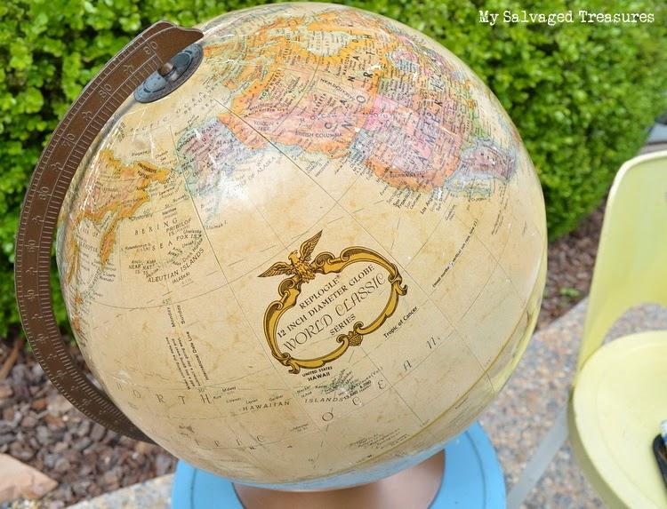 1970s Replogle globe
