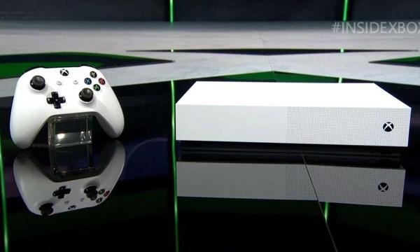 الإعلان رسميا عن جهاز Xbox One S بدون قارئ أشرطة و سعر مناسب جدا..