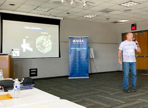 Dr. Joel Sercel describes Trans Astronautica Corp. vision of how asteroid mining lowers the cost of going out into space